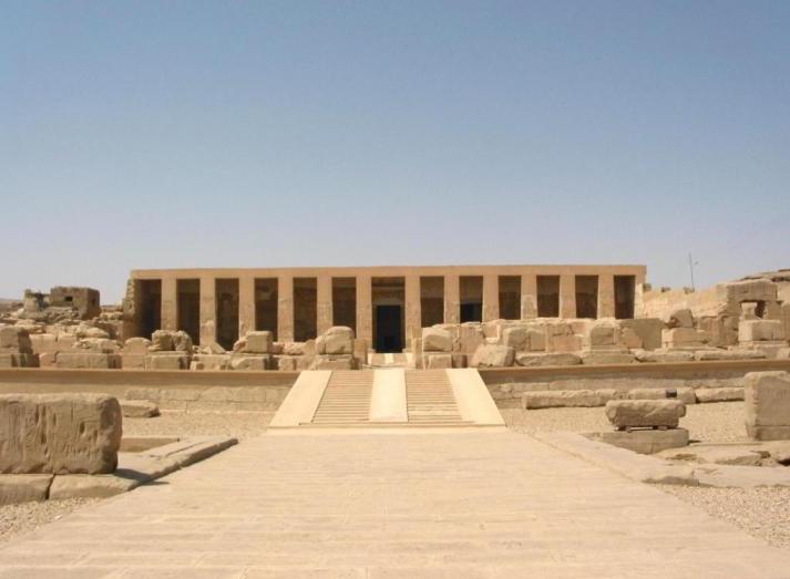 Resultado de imagen para templo de abydos