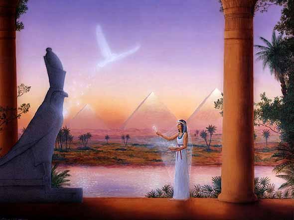 Priestess of Isis